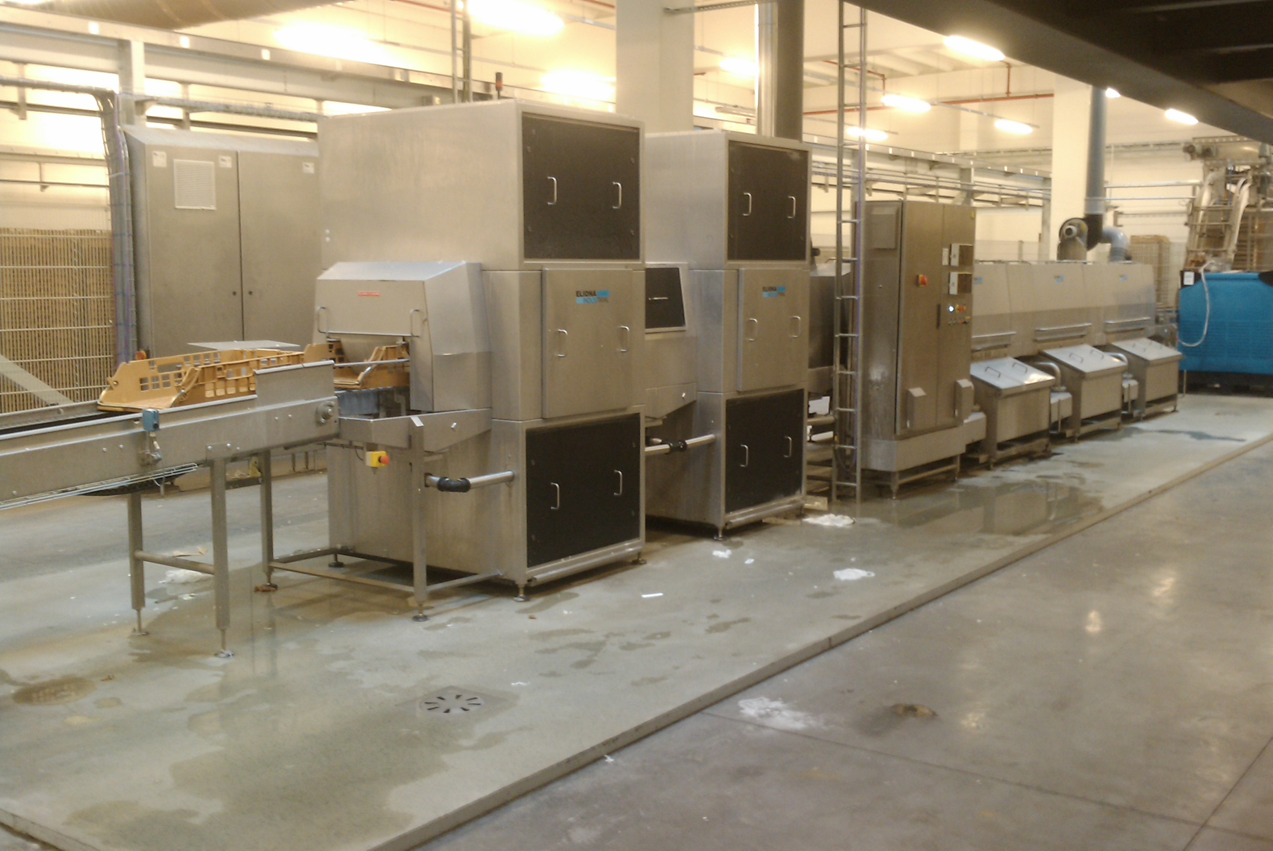 Cretel drying system confectionary
