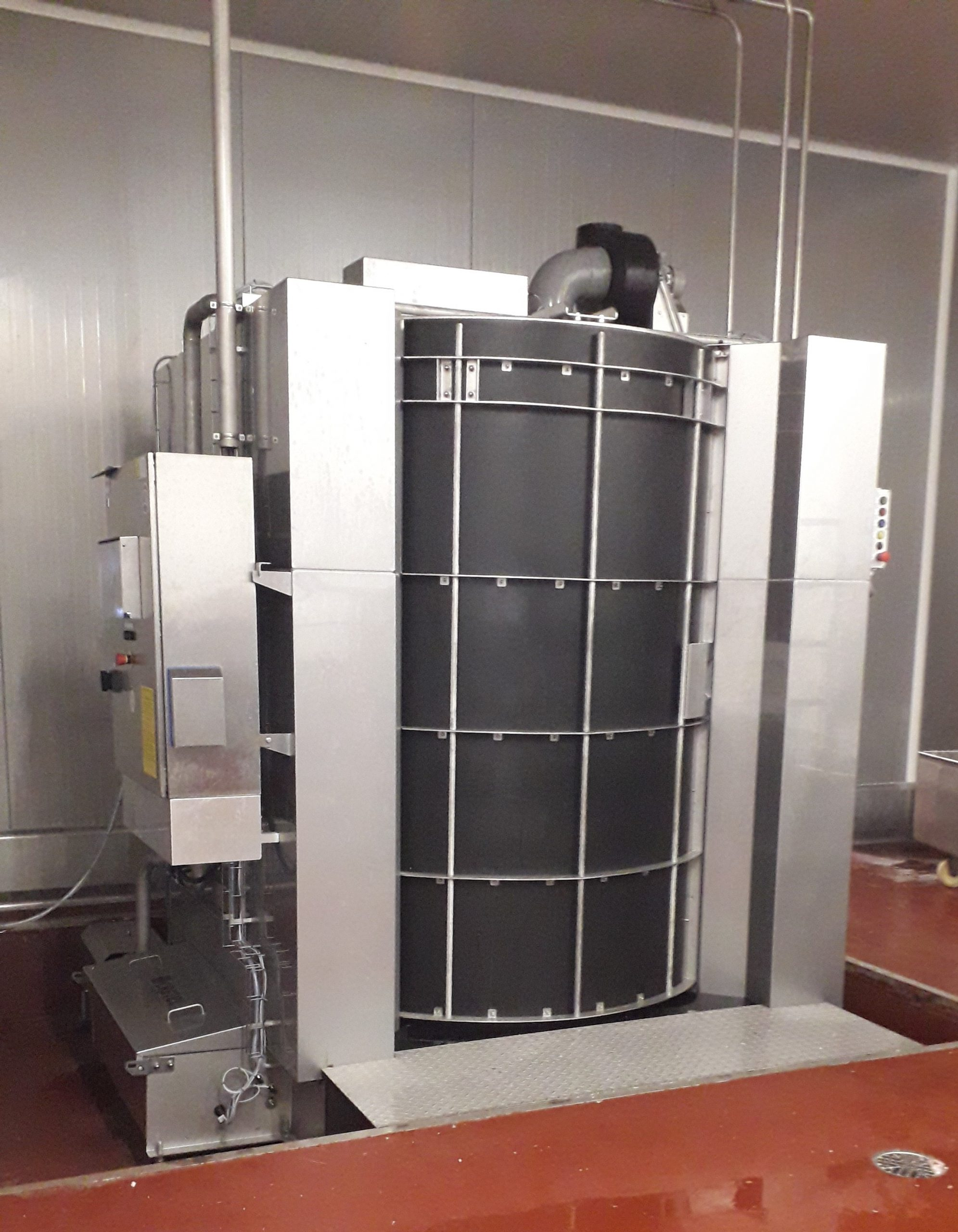 Cretel rack and trolley washer meat precossing industry