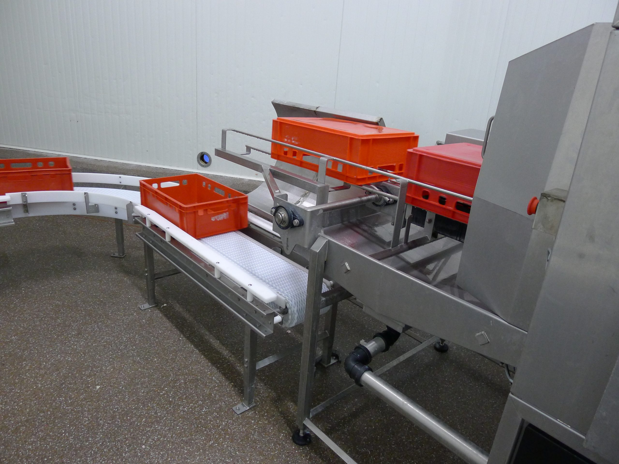 Cretel crate washer meat processing industry