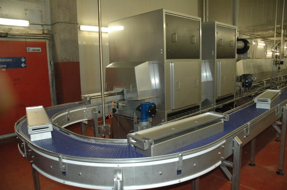 Cretel handling SS conveyor