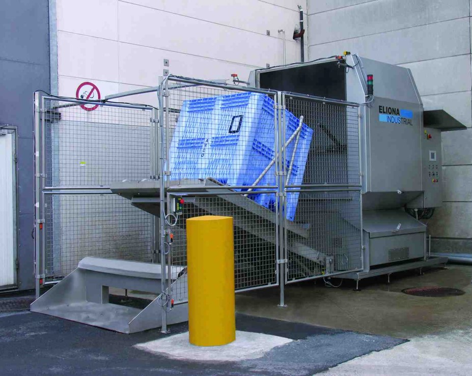 Cretel container washer PWR 120.100